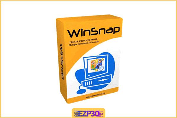 نرم افزار اسکرین شات در ویندوز 10 , 7 و … , WinSnap عکس گرفتن از صفحه