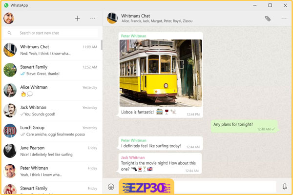 نصب و دانلود نرم افزار پیام رسان WhatsApp برای ویندوز