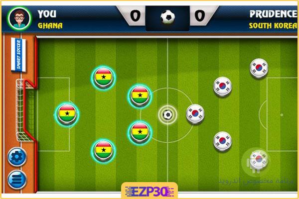 دانلود بازی Soccer Stars - ساکر استارز به همراه هک برای اندروید