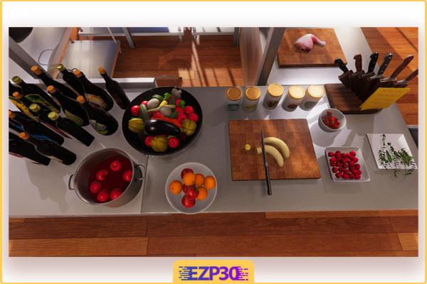 دانلود بازی Cooking Simulator ویندوز بازی شبیه ساز آشپزی