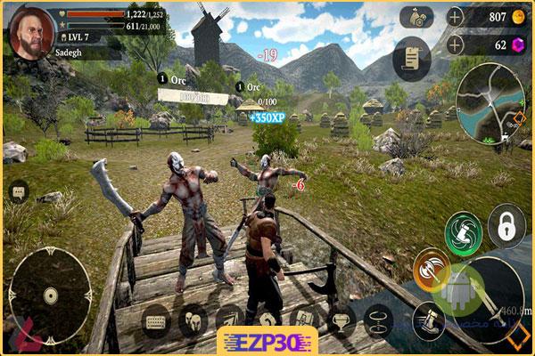دانلود بازی Evil Lands برای اندروید