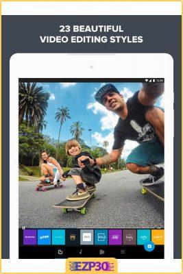 دانلود برنامه Quik Go Pro برای اندورید عکس درون متن