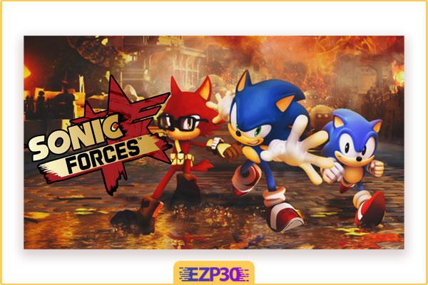 دانلود بازی سونیک برای کامپیوتر نسخه فشرده شده – بازی نیروی سونیک Sonic Forces