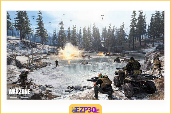 دانلود بازی call of duty warzone