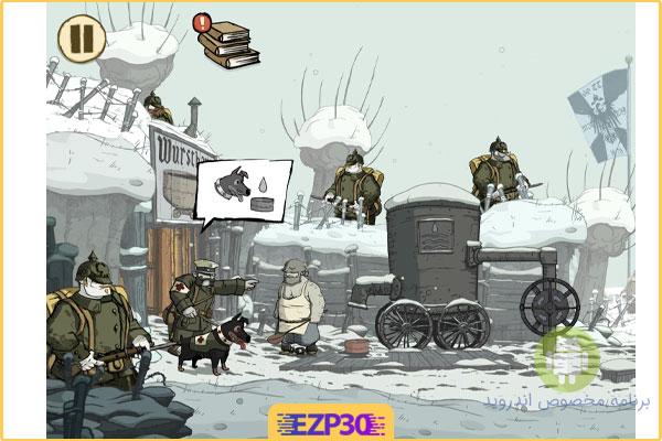 دانلود بازی Valiant Hearts بازی قلب شجاع جنگ جهانی اول برای اندروید