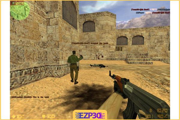 دانلود بازی کانتر استریک 1.6 برای کامپیوتر