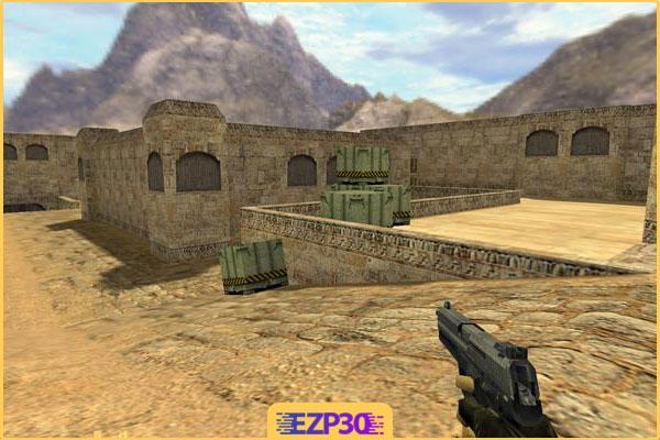 دانلود بازی Counter Strike 1.6 برای کامپیوتر نصب اسان