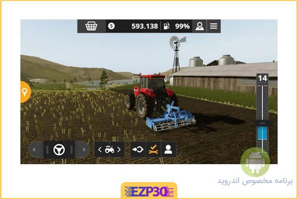 دانلود بازی farming simulator 2020 برای اندروید