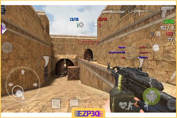 نصب بازی کانتر ۲ نسخه جدید برای اندروید sfg 2