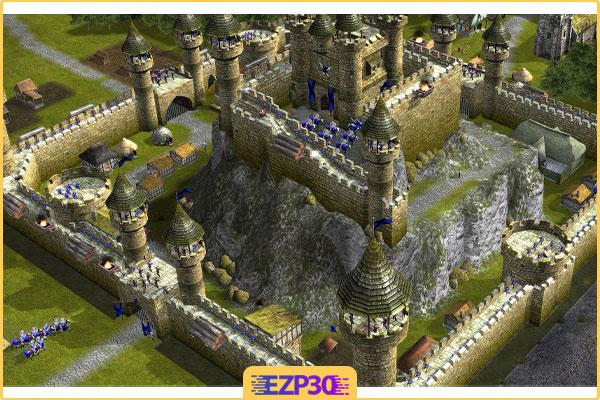 دانلود بازی استراتژیک جنگ های صلیبی 4 Stronghold Legends برای کامپیوتر