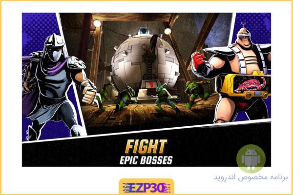 دانلود بازی ninja turtles legends برای اندروید