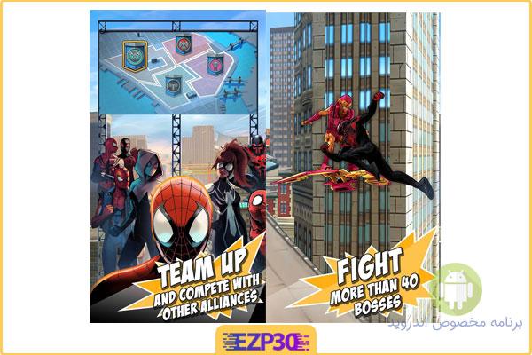 دانلود بازی spider man unlimited برای اندروید