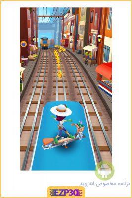 بازی موج سواران مترو برای اندروید
