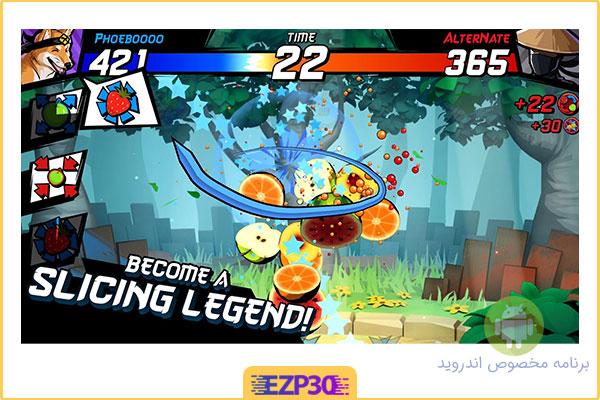 دانلود بازی Fruit Ninja Fight