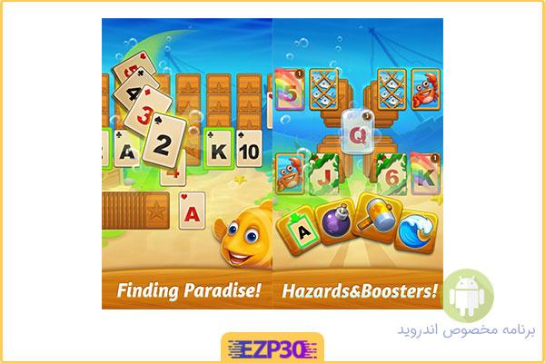 دانلود بازی solitaire paradise tripeaks