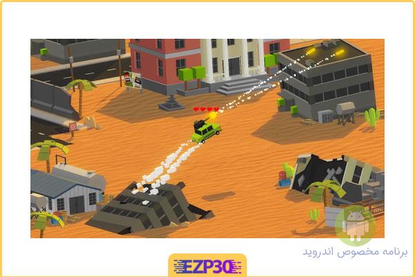 دانلود بازی نبرد تانک ها با ماشین ها