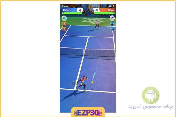 دانلود بازی Tennis Clash