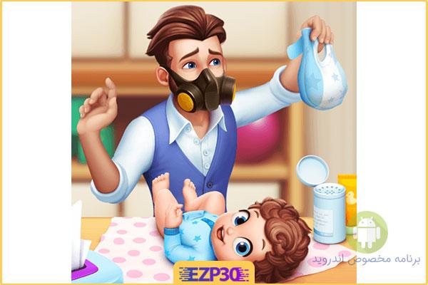 دانلود بازی Baby Manor اپلیکیشن خانه کودک برای اندروید