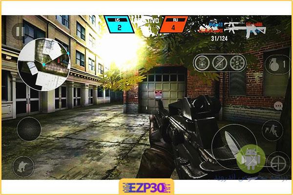 بازی Bullet Force برای اندروید