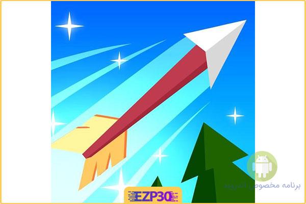 دانلود بازی Flying Arrow اپلیکیشن تیر پرنده برای اندروید