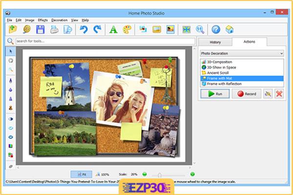 دانلود نرم افزار ساخت کارت پستال