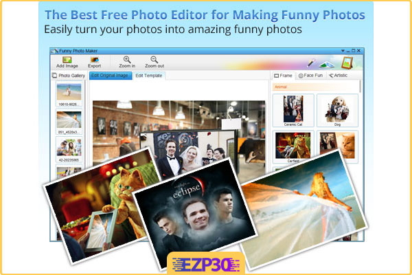 دانلود برنامه Funny Photo Maker نرم افزار ساخت تصاویر جالب برای کامپیوتر