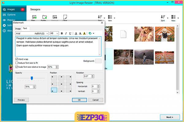دانلود برنامه Light Image Resizer