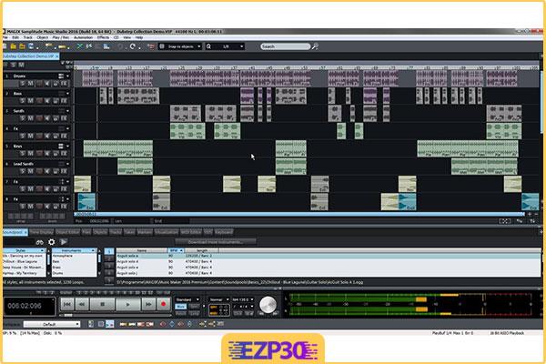 دانلود MAGIX Samplitude Music Studio