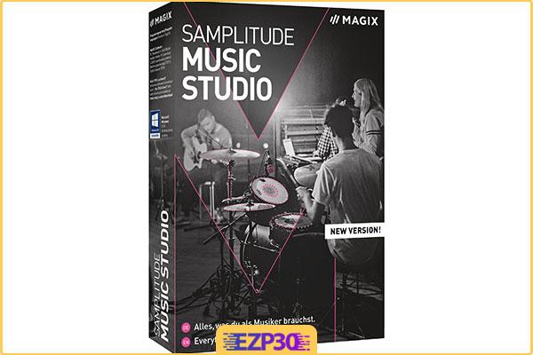 دانلود MAGIX Samplitude Music Studio برنامه میکس آهنگ برای کامپیوتر