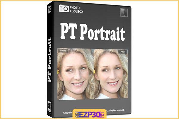 دانلود PT Portrait Studio نرم افزار روتوش تصاویر چهره برای کامپیوتر