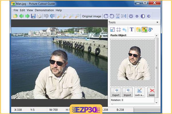 دانلود نرم افزار Picture Cutout Guide