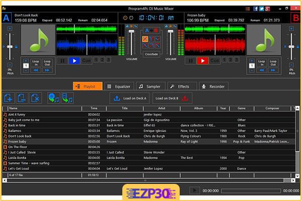 دانلود Program4Pc DJ Music Mixer