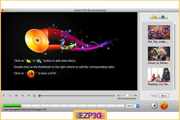 دانلود برنامه Cisdem DVDBurner
