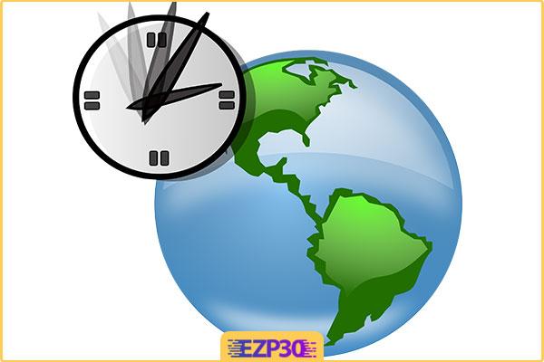 دانلود برنامه Desksoft EarthTime نرم افزار مشاهده ساعت شهر های جهان