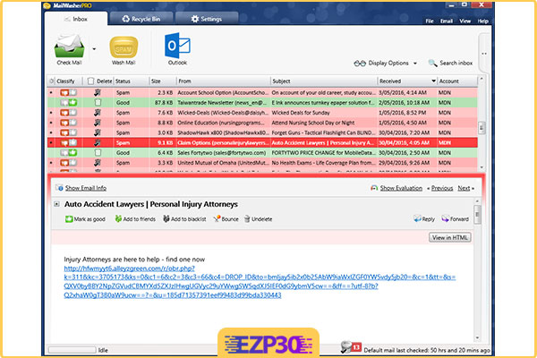 دانلود برنامه MailWasher Pro