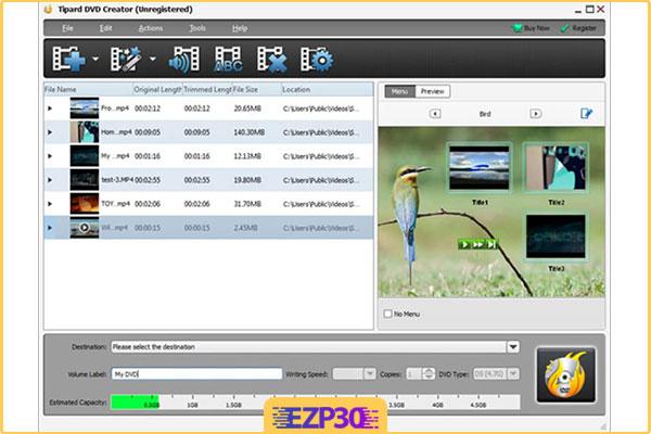 دانلود Tipard DVD Creator