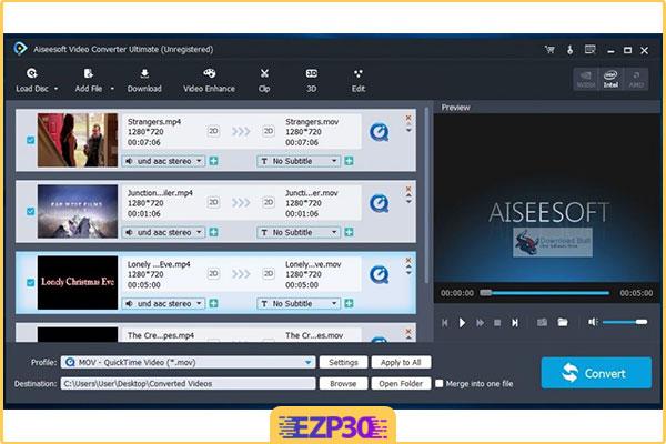 دانلود Aiseesoft Video Converter