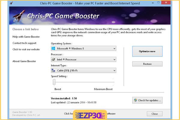 دانلود Chris-PC Game Booster