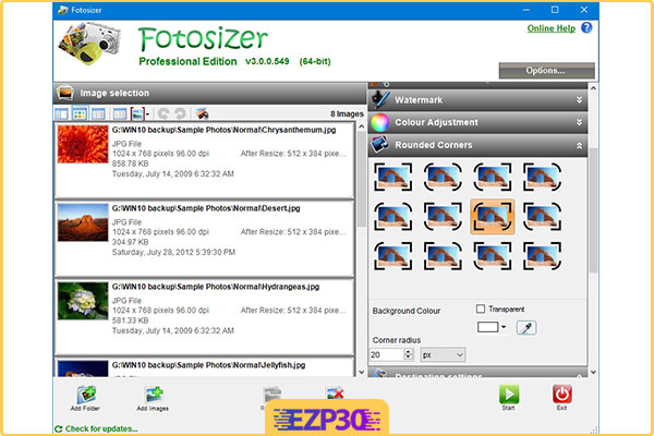 دانلود نرم افزار FotoSizer Pro