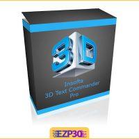 دانلود Insofta 3D Text Commander نرم افزار ساخت متن سه بعدی
