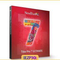 دانلود NewBlueFX Titler Pro نرم افزار قرار دادن متن در ویدیو