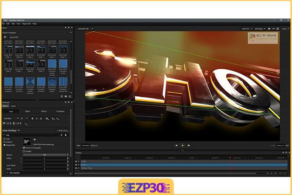 دانلود NewBlueFX Titler Pro