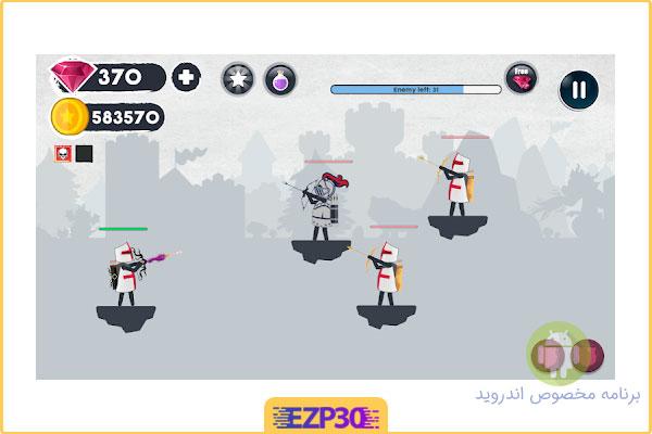 دانلود بازی Arqy.io: Archers Game کمانداران