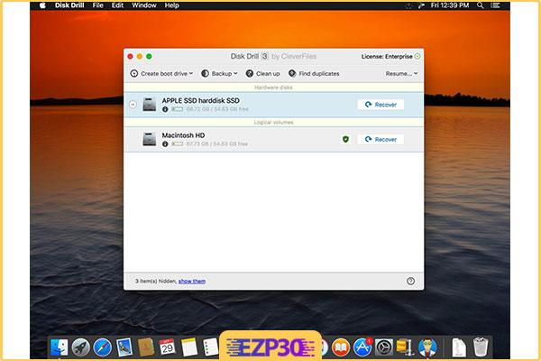 دانلود Disk Drill Enterprise نرم افزار بازیابی اطلاعات