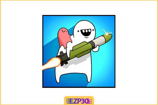 دانلود بازی Missile Dude RPG: Tap Tap Missile رفیق موشکی