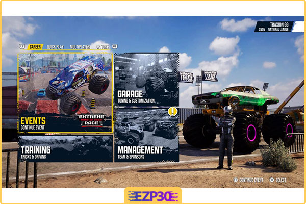 دانلود بازی Monster Truck Racing