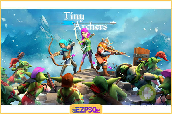 دانلود بازی Tiny Archers کمانداران کوچک
