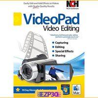 دانلود VideoPad Video Editor Pro نرم افزار ویرایش فایل ویدیویی