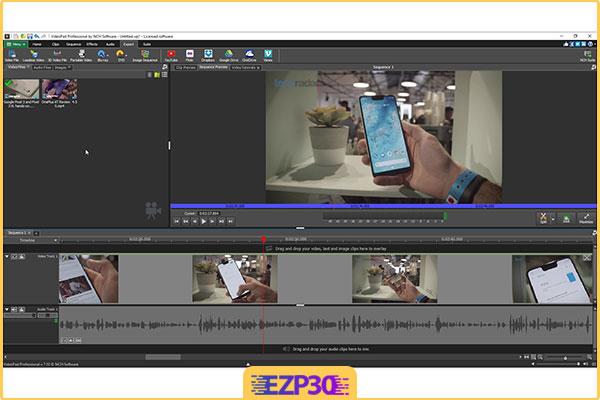 دانلود VideoPad Video Editor Pro