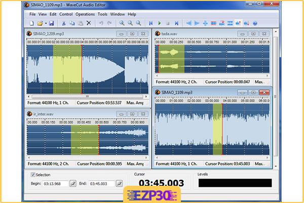 دانلود AbyssMedia WaveCut Audio Editor